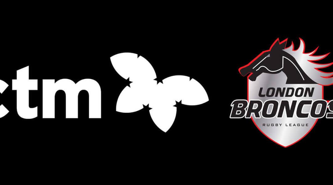 London Broncos announce Principle Partnership with Corporate Travel Management (CTM)