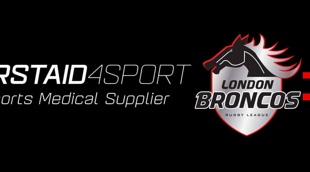 Firstaid4sport join the Broncos as partners for 2021