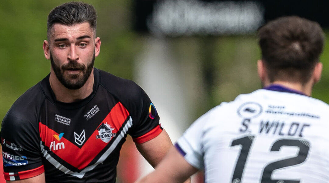 London Broncos' Skipper Will Lovell Previews Batley Bulldogs
